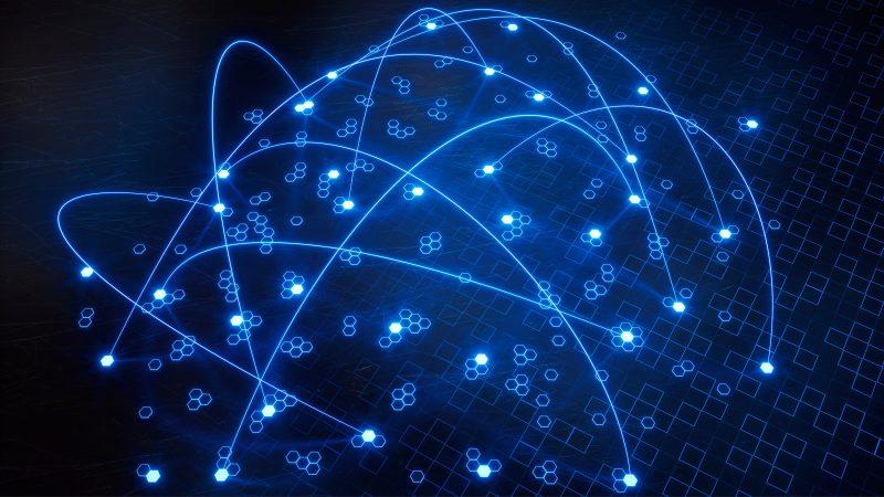 Telekommunikation Geschaeftskunden Glattnet Business Blau Daten Vernetzung