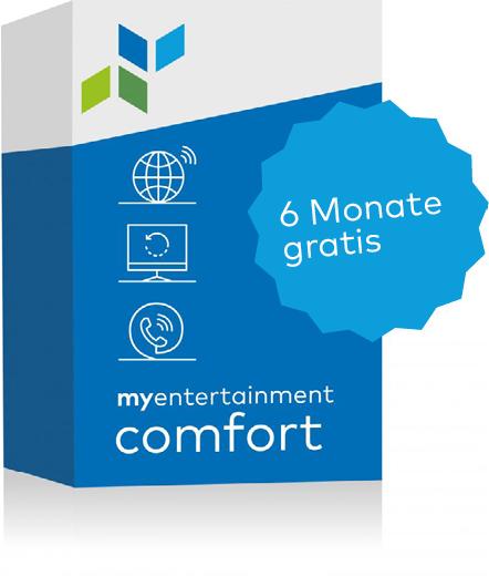 Bundle comfort 6 Monate gratis